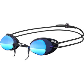 arena Swedix Mirror Goggles, smoke-blue-black